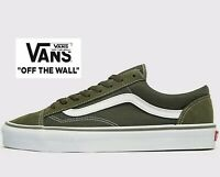 🔥 LATEST 2019 VANS STYLE 36 MESH ® ( Men Size UK: 7 - 12  ) Dusty Olive Green