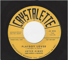 JOYCE AIMEE  -  PLAYBOY LOVER  /  I'LL TAKE CARE OF YOUR CARES
