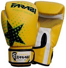 Farabi Star Kids Boxing gloves 6-oz kickboxing, Martial Arts, MMA, Muay Thai