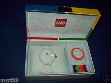 Lego 9007477 WHITE BRICK WATCH Adult / Teen New Buildable watch  interchange NIB