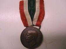 Wwi Italian Unita D'Italia 1848-1918 Medal