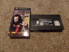 wwf Unforgiven 1998 Non-Rental vhs wrestling Undertaker