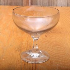 Vintage Grey Tint Glass Ice Cream Dish Sundae Sherbet