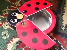 Ladybug tin Lithography storage container