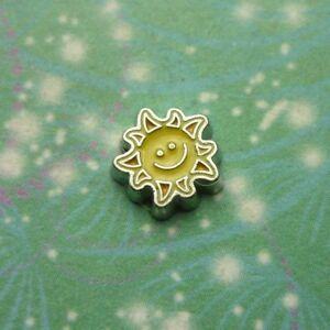 Happy Sun - Living memory- Charm for Story Lockets