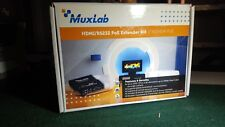 Muxlab HDMI/RS232 Extender Kit with PoE - Black (MUHDMI232EP2)