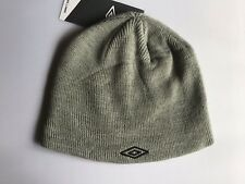 61fefc3c084 Umbro Beanie Hat Grey One Size Football Winter Running Thermal Warm