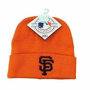 MLB Beanie San Francisco Giants, Black Logo Cuffed