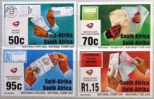 RSA SÜDAFRIKA SOUTH AFRICA 1994 940-43 Natl. Briefmarkentag Stamp Day Post MNH