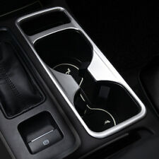 ABS Matte Inner Front Water Cup Holder Cover Trim 1Pc For Ford Escape Kuga 2017