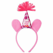 PEPPA PIG DELUXE HEADBAND ~ Birthday Party Supplies Favor Nick Jr Pink Dress Up
