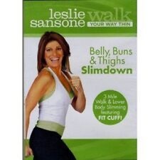 Leslie Sansone Walk Your Way Thin BELLY BUNS & THIGHS (DVD ONLY) 3 Mile Lower