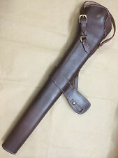 WWI WWII 303 SMLE S.M.L.E. Rifle LEATHER BUCKET - DARK BROWN