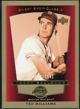 2003 Ted Williams Upper Deck Sweet Spot Classic #107, 550/1941