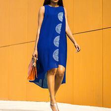 US HOT Womens Summer Long Maxi BOHO Ladies Evening Party Dress Beach Sundresses