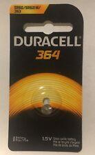 Duracell 364 (AG1 SR621SW LR621 SR621 SR60 363) Button Cell Battery