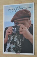 ORIGINAL Autogramm von Mario Adorf. pers. gesammelt. 20x30 FOTO 100% ECHT