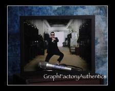 Psy Gangnam Style Signiert Gerahmt Mikrofon Coa GFA Selten