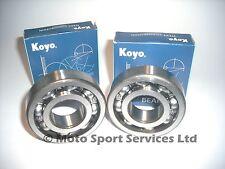 Crank Main Bearings x2 Kawasaki KX 80 85 100 KX80 KX85 KX100 1981 to 2016