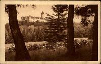 Benešov Tschechien AK ~30er Jahre gelaufen Zámek Konopiště Blick auf das Schloß