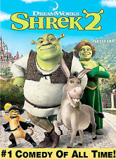 """Shrek 2"" Brand NEW, Factory Sealed DVD, 2004, Widescreen Edition!"