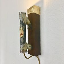 Fahrrad Lampe Göricke Retro Vintage Handmade Unikat Eichenholz Fixie Singlespeed