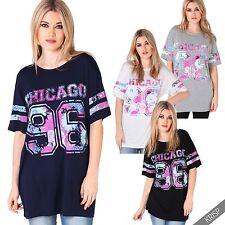 Hip Length Crew Neck Stretch Tops & Shirts for Women