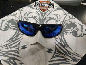 Eaglerider NEW Blue Lens Foam Padded motorcycle riding sunglasses