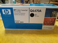 HP Q6470A Black Toner Cartridge NEW  IN SEALED BOX