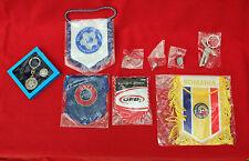 NEW UEFA/ROMANIA/HELLENIC/GERMAN/F.A/ FOOTBALL FEDERATION CAR BANNERS/BADGES ETC