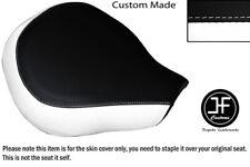 Vinilo Blanco y Negro Personalizado Se Ajusta Suzuki VL 800 Volusia frente cubierta de asiento solamente