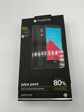 Mophie Juice Pack LG G4 Rechageble Battery Case 3.450 Mah BLACK