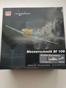 """Hobby Master 1/48 HA8750 Messerschmitt BF 109G-6 """"Erich Hartmann"""" Diecast"""