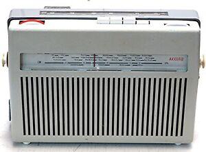 Kofferradio Akkord Tourist, für Autohalterung,   60er-Jahre,  getestet