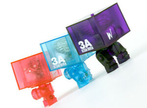 ThreeA 3A WWR 3AGO (Red/Pink) Clear Square (1 square only)