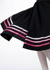 Girls Marks & Spencer Dancing Knee Length Skirt 8 - 9 Years