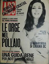 """"""" A B C """" N°5/ 29/GEN/1967 * SANREMO : LE 100 DONNE DEL PORNO-PAPARAZZO *"""