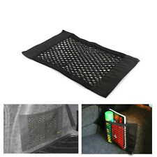 Portable Rear Trunk Back Seat Storage Sundries Resilient Magic Net Bag 40x25 cm