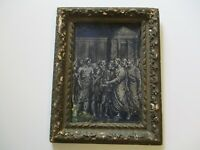ANTIQUE 19TH CENTURY OR OLDER PAINTING OLD MASTER ICONIC PORTRAIT MYSTERY