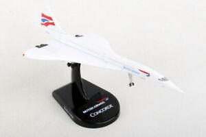 Postage Stamp 58002 British Airways Concorde 1/350 Scale Diecast Model