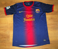 Nike Barcelona 2012/2013 Messi home shirt (Size M)
