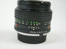 Minolta MC Rokkor-X 50mm f/1.4 PG Lens