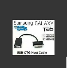 30 Pin to Female USB Adapter OTG Cable for Samsung Galaxy Tab 2 10.1 Tablet PC