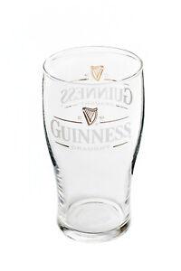 """Guinness Bier Glas / Gläser, Bierglas DoppelLogo """"Guinness Draught"""" 0,3l"""