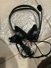 Genuine Labtec Grey and Black Wired Headphones with Microphone C-324 NEW NWOB