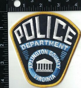 Arlington County Police Dept. Police Patch Virginia VA