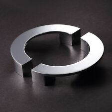 2PCS 96mm Semi-circle Cabinet Handle Cupboard Door Drawer Modern Furniture Pulls
