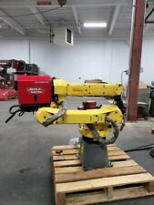 Fanuc Arcmate 100ic Industrial Welding Robot Withr30ib Controller And Lincoln R500