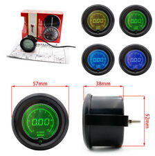 "2"" 52mm Auto Car 7 Colors LED Display Digital Tachometer Tacho Gauge RPM Metal"