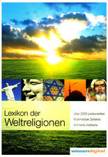 Lexikon religions of the world 2.500 Encyclopedia article DVD-ROM